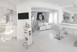 O klinice - Salon